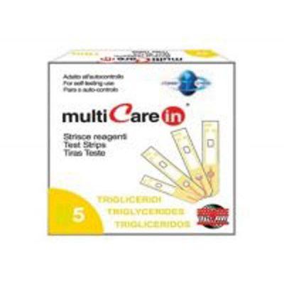 Teste trigliceride pentru Multicare IN - 5 teste