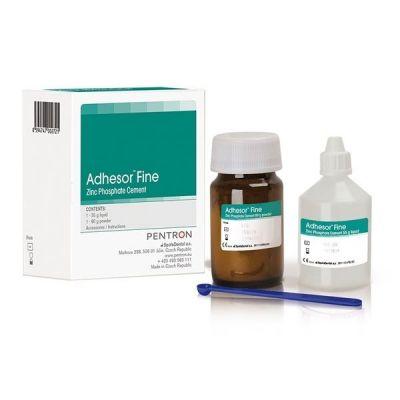 Ciment fosfat de zinc Adhesor Fine, 80 g + 55 ml, N1, White