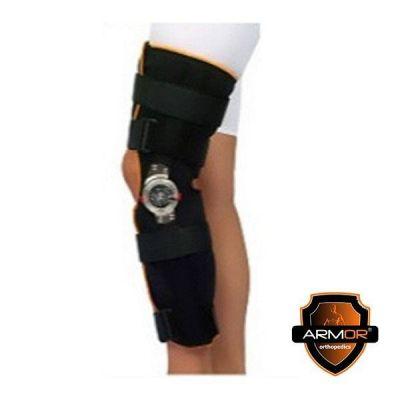 Orteza imobilizare genunchi, unghi reglabil, din neopren, BRK1013