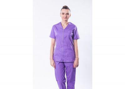 Bluza medicala Elisa 03 Mov