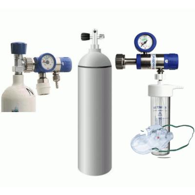 Butelie oxigen - Set complet oxigenoterapie, 5 litri