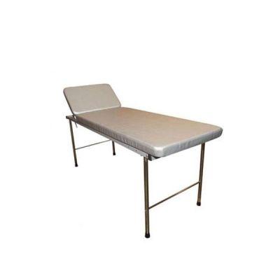 Canapea examinare, metalica, 2 sectiuni, cap rabatabil