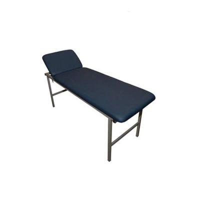 Canapea examinare, metalica, 2 sectiuni, schelet metalic + cap rabatabil