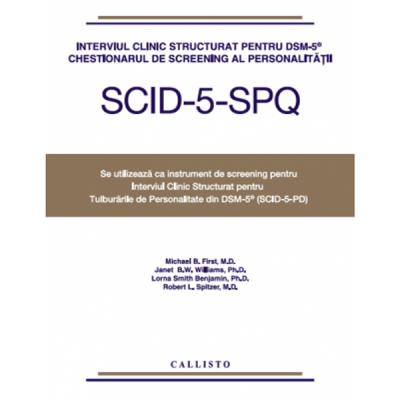 Interviul Clinic Structurat pentru DSM-5, Chestionarul de Screening al Personalitatii pentru SCID-5-PD, set 5 buc.