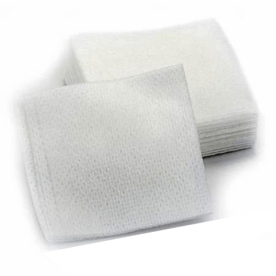 Comprese sterile din netesut pliate VELFINA, 4 straturi, 7.5 cm x 7.5 cm, 25 buc.