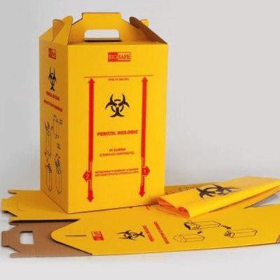 Cutii carton deseuri infectioase, diverse capacitati