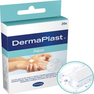 Plasturi DERMAPLAST Aqua stripuri (3 marimi), 20 buc.