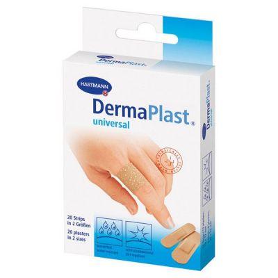 Plasturi DERMAPLAST Water-resistant (universal) stripuri, 2 marimi