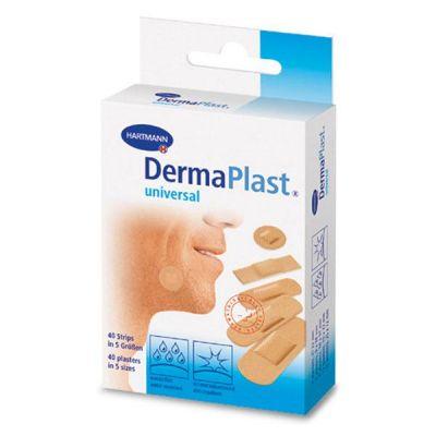 Plasturi DERMAPLAST Water-resistant (universal) stripuri, 5 marimi