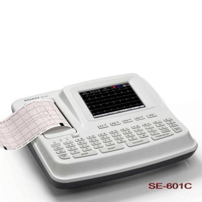Electrocardiograf portabil cu 6 canale SE-601C
