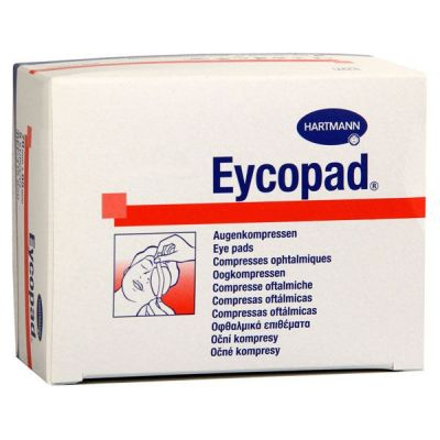 Comprese oculare sterile EYCOPAD, 25 buc.