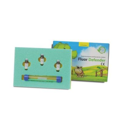 Lac cu fluor Fluor Defender, Cerkamed