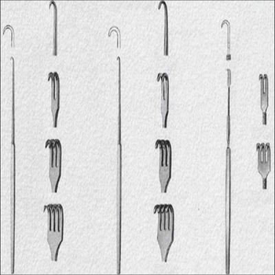 Departator Hook, lungime 16 cm