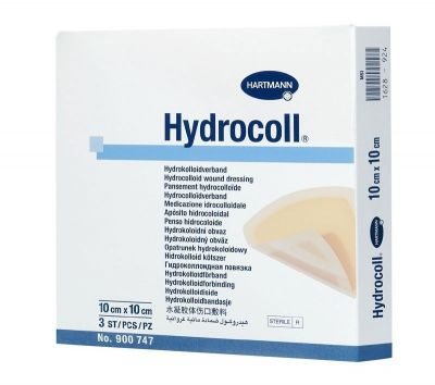 Pansament cu hidrocoloid Hydrocoll, 10 cm x 10 cm