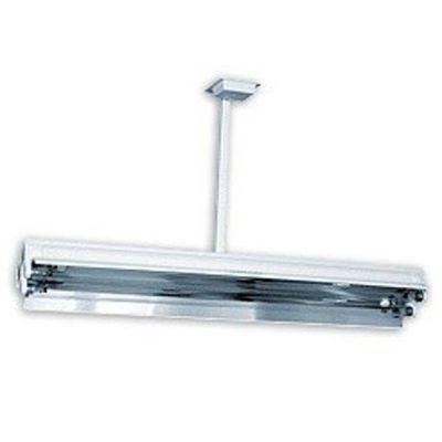 Lampa bactericida 2x30W, utilizare in absenta persoanelor, montare pe tavan