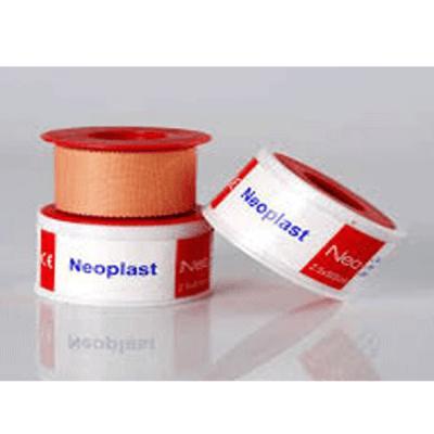 Leucoplast pe suport textil, rola 5 m, diverse dimensiuni