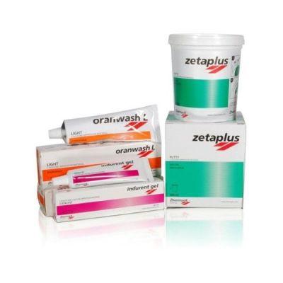 Kit amprentare dentara - Oferta Zeta Plus Putty + Indurent + Oranwash Zhermack