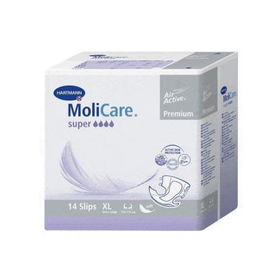 Scutece adulti MoliCare Premium Super, marimea XL
