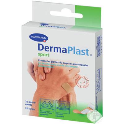 Plasturi DERMAPLAST Protect (sport) stripuri, 20 buc.
