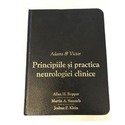 Adams&Victor, Principiile si Practica Neurologiei Clinice, editie limitata, copertata in piele