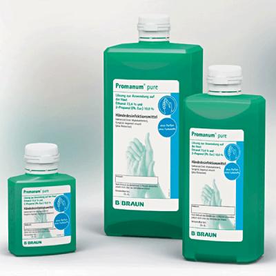 Dezinfectant maini PROMANUM PURE, 1000 ml