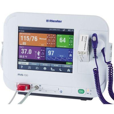 Monitor functii vitale RVS-100, cu NIBP (Riester), SpO2 (Masimo), Pred. Temp si printer