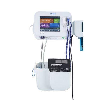 Monitor functii vitale RVS-200, cu NIBP (Riester), SpO2 (Nellcor), Pred. Temp, printer