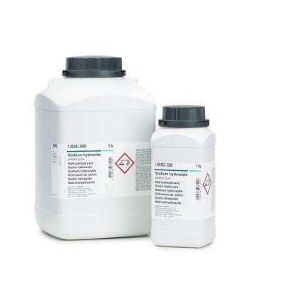 Hidroxid de sodiu (soda caustica) rotulis p.a., 1 kg