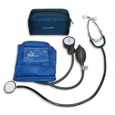 Tensiometru aneroid cu stetoscop AG1-20 Microlife