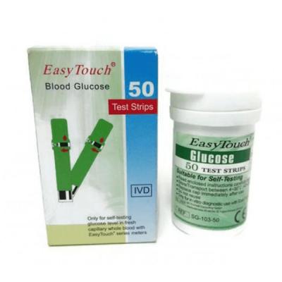 Teste glicemie pentru EasyTouch, 50 buc.