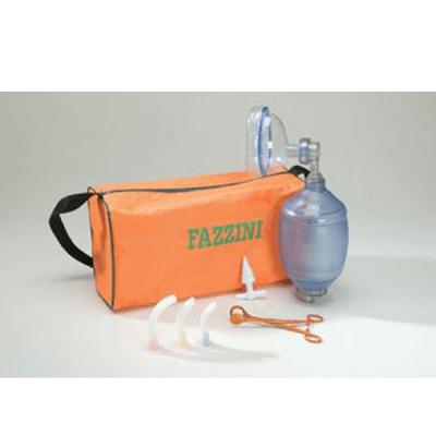 Trusa resuscitare copii, silicon, geanta transport