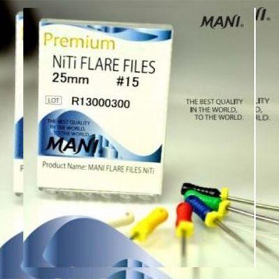 Ace Flare Files NiTi - nr. 15 -  40, 6 buc./cutie